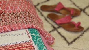 Plaid Vintage Kantha