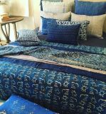 Plaid-Vintage-Kantha-Indigo-Creation Claire Gasparini